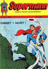 Cover Thumbnail for Supermann (Illustrerte Klassikere / Williams Forlag, 1969 series) #9/1971