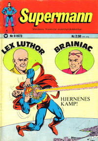 Cover Thumbnail for Supermann (Illustrerte Klassikere / Williams Forlag, 1969 series) #9/1973
