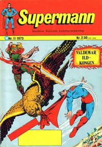 Cover Thumbnail for Supermann (Illustrerte Klassikere / Williams Forlag, 1969 series) #11/1973