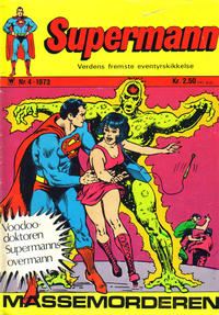 Cover Thumbnail for Supermann (Illustrerte Klassikere / Williams Forlag, 1969 series) #4/1973