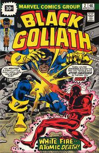 Cover Thumbnail for Black Goliath (Marvel, 1976 series) #2 [30¢ Price Variant]