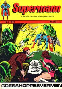 Cover Thumbnail for Supermann (Illustrerte Klassikere / Williams Forlag, 1969 series) #2/1973