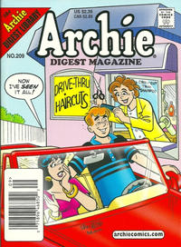 Cover Thumbnail for Archie Comics Digest (Archie, 1973 series) #209 [Newsstand]