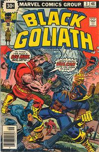 Cover for Black Goliath (Marvel, 1976 series) #3 [30¢ Price Variant]