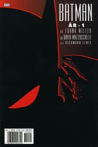 Cover Thumbnail for Batman: År 1 (Hjemmet / Egmont, 2007 series)