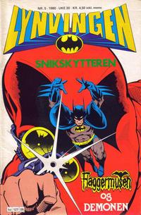 Cover Thumbnail for Lynvingen (Semic, 1977 series) #5/1980