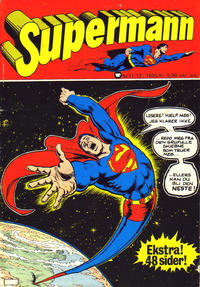 Cover Thumbnail for Supermann (Illustrerte Klassikere / Williams Forlag, 1969 series) #11-12/1975