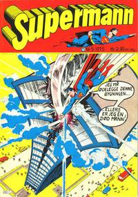 Cover Thumbnail for Supermann (Illustrerte Klassikere / Williams Forlag, 1969 series) #9/1975