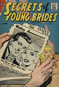 Cover Thumbnail for Secrets of Young Brides (Charlton, 1957 series) #10