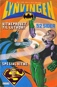 Cover Thumbnail for Lynvingen (Semic, 1977 series) #4/1979