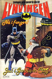 Cover Thumbnail for Lynvingen (Semic, 1977 series) #12/1980