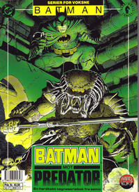 Cover Thumbnail for Batman mot Predator (Semic, 1993 series)