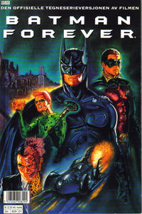 Cover Thumbnail for Batman Forever [Batman filmspesial] (Semic, 1995 series)