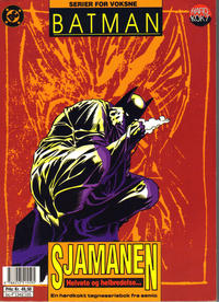 Cover Thumbnail for Batman - Nattens Ridder (Semic, 1992 series) #[5] - Sjamanen