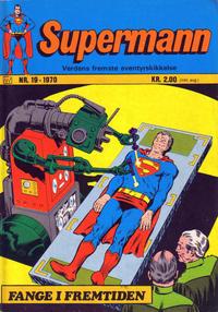Cover Thumbnail for Supermann (Illustrerte Klassikere / Williams Forlag, 1969 series) #19/1970