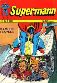 Cover Thumbnail for Supermann (Illustrerte Klassikere / Williams Forlag, 1969 series) #11/1971