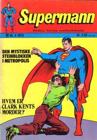 Cover Thumbnail for Supermann (Illustrerte Klassikere / Williams Forlag, 1969 series) #5/1973