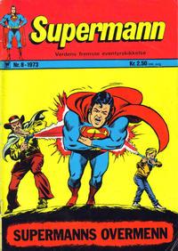 Cover Thumbnail for Supermann (Illustrerte Klassikere / Williams Forlag, 1969 series) #8/1973