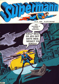 Cover Thumbnail for Supermann (Illustrerte Klassikere / Williams Forlag, 1969 series) #15/1976