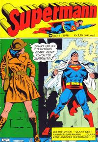 Cover Thumbnail for Supermann (Illustrerte Klassikere / Williams Forlag, 1969 series) #11/1976