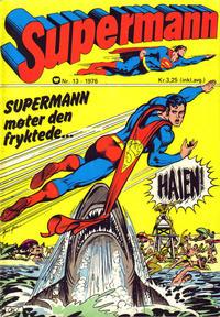 Cover Thumbnail for Supermann (Illustrerte Klassikere / Williams Forlag, 1969 series) #13/1976