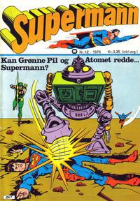 Cover Thumbnail for Supermann (Illustrerte Klassikere / Williams Forlag, 1969 series) #12/1976