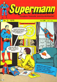 Cover Thumbnail for Supermann (Illustrerte Klassikere / Williams Forlag, 1969 series) #3/1975