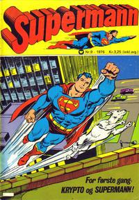 Cover Thumbnail for Supermann (Illustrerte Klassikere / Williams Forlag, 1969 series) #9/1976