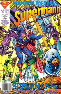 Cover Thumbnail for Supermann (Semic, 1985 series) #7/1991
