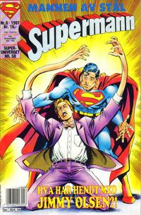 Cover Thumbnail for Supermann (Semic, 1985 series) #6/1991