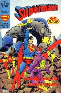 Cover Thumbnail for Supermann (Semic, 1985 series) #2/1988
