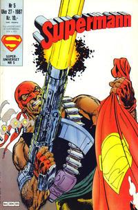Cover Thumbnail for Supermann (Semic, 1985 series) #5/1987