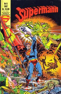 Cover Thumbnail for Supermann (Semic, 1985 series) #8/1987