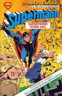 Cover Thumbnail for Supermann (Semic, 1985 series) #9/1985