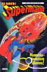 Cover Thumbnail for Supermann (Semic, 1985 series) #4/1986