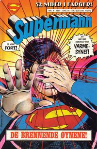 Cover Thumbnail for Supermann (Semic, 1985 series) #4/1985