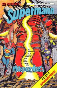 Cover Thumbnail for Supermann (Semic, 1985 series) #3/1986