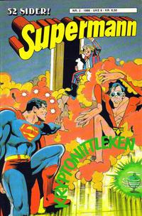 Cover Thumbnail for Supermann (Semic, 1985 series) #2/1986
