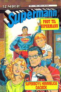 Cover Thumbnail for Supermann (Semic, 1985 series) #1/1986