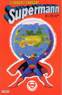 Cover Thumbnail for Supermann (Semic, 1977 series) #7/1980