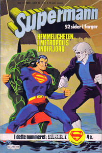 Cover Thumbnail for Supermann (Semic, 1977 series) #3/1980