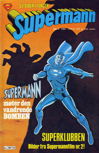 Cover Thumbnail for Supermann (Semic, 1977 series) #2/1981
