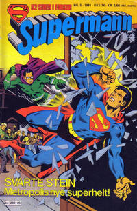 Cover Thumbnail for Supermann (Semic, 1977 series) #5/1981