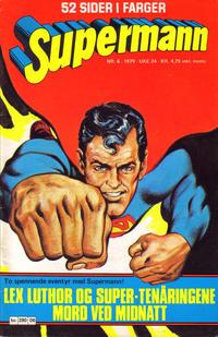 Cover Thumbnail for Supermann (Semic, 1977 series) #6/1979