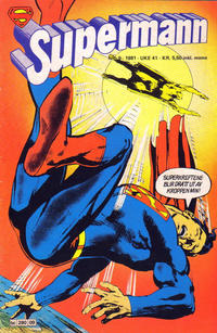Cover Thumbnail for Supermann (Semic, 1977 series) #9/1981