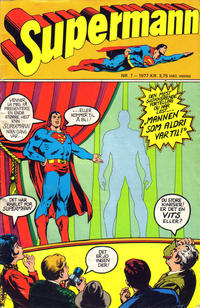 Cover Thumbnail for Supermann (Semic, 1977 series) #7/1977