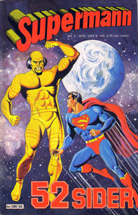 Cover Thumbnail for Supermann (Semic, 1977 series) #2/1979