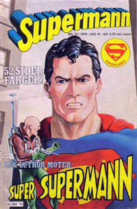 Cover Thumbnail for Supermann (Semic, 1977 series) #12/1979