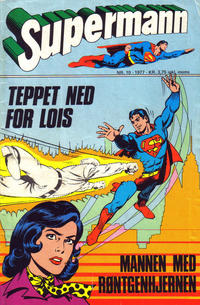 Cover Thumbnail for Supermann (Semic, 1977 series) #10/1977