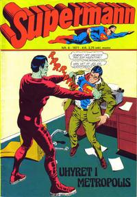 Cover Thumbnail for Supermann (Semic, 1977 series) #6/1977